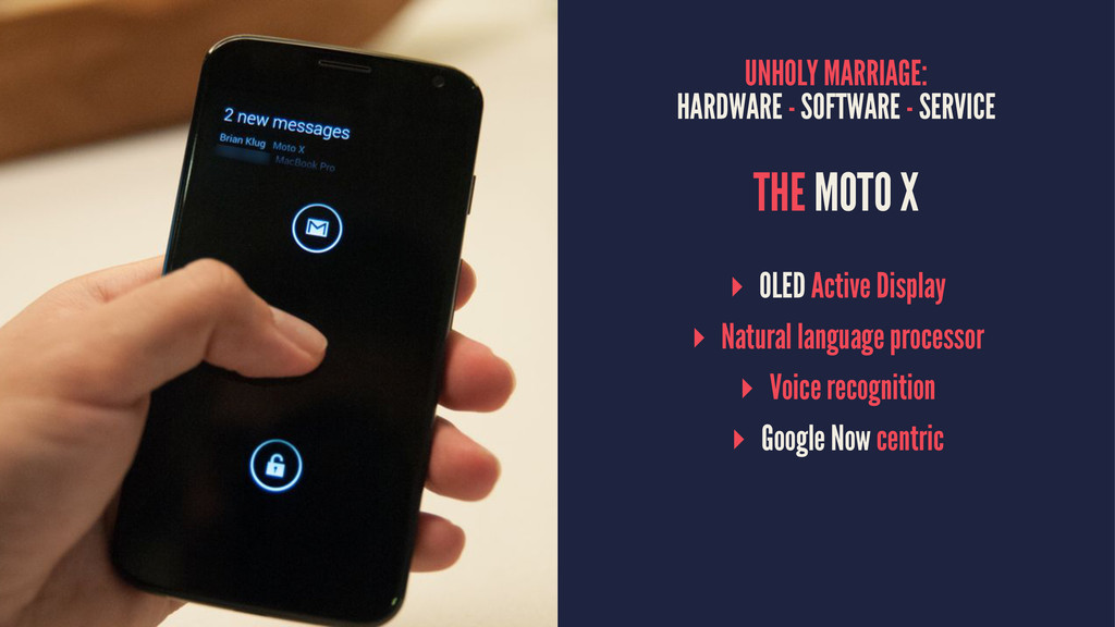 UNHOLY MARRIAGE: HARDWARE - SOFTWARE - SERVICE ...