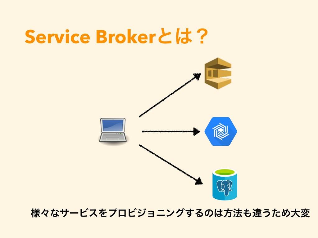 Service Brokerͱʁ ༷ʑͳαʔϏεΛϓϩϏδϣχϯά͢Δͷํ๏ҧ͏ͨΊେม
