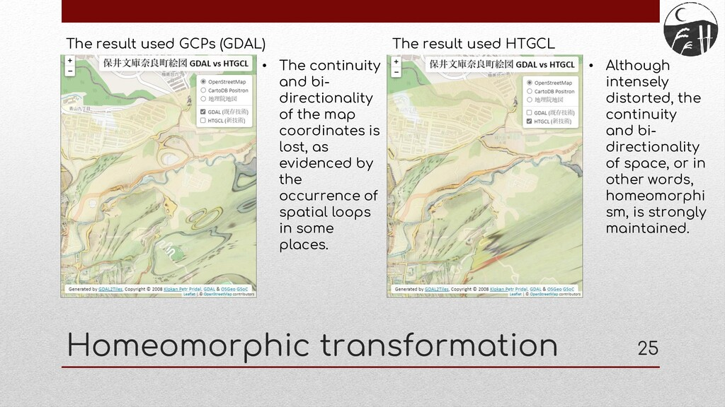 Homeomorphic transformation 25 The result used ...