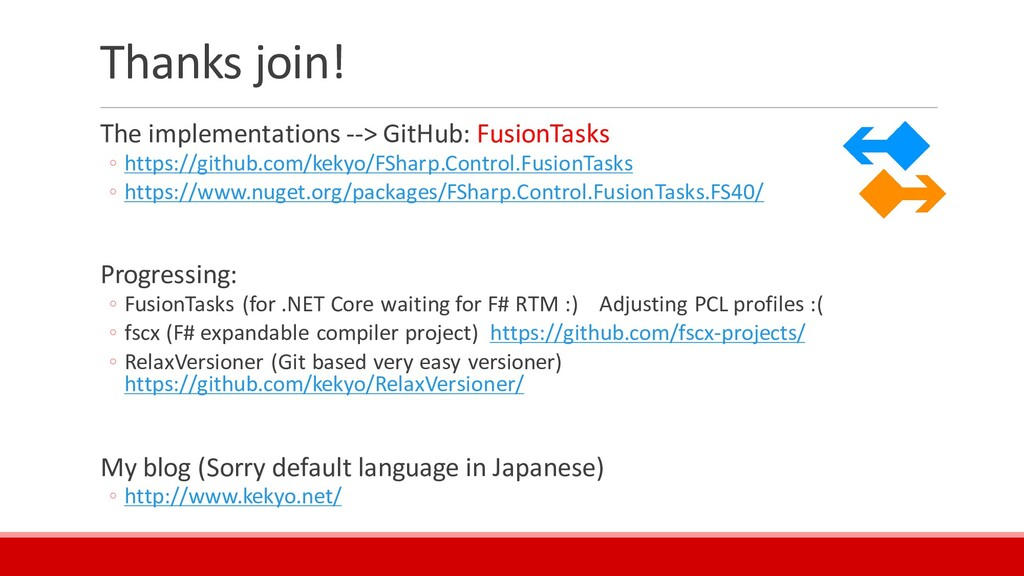 Thanks join! The implementations --> GitHub: Fu...