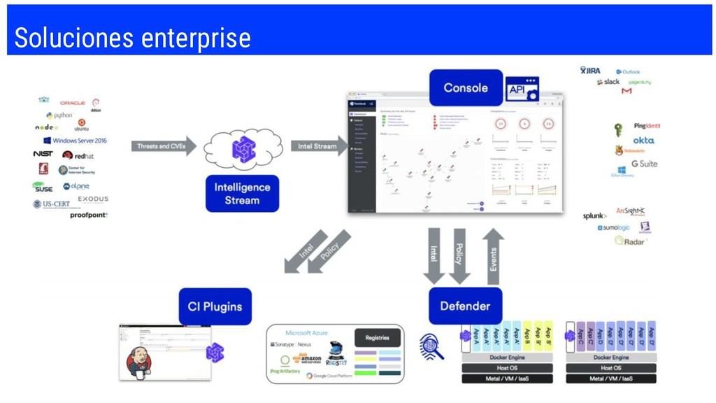 Soluciones enterprise