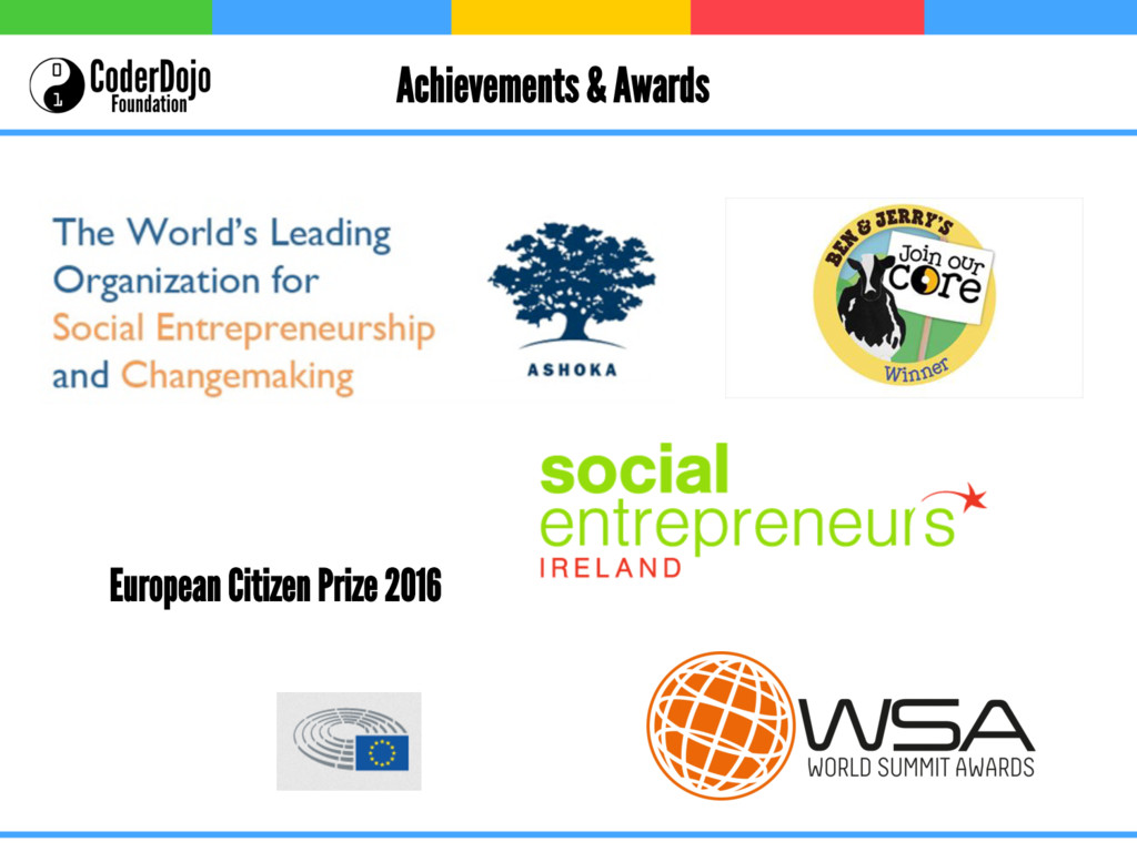 Achievements & Awards European Citizen Prize 20...