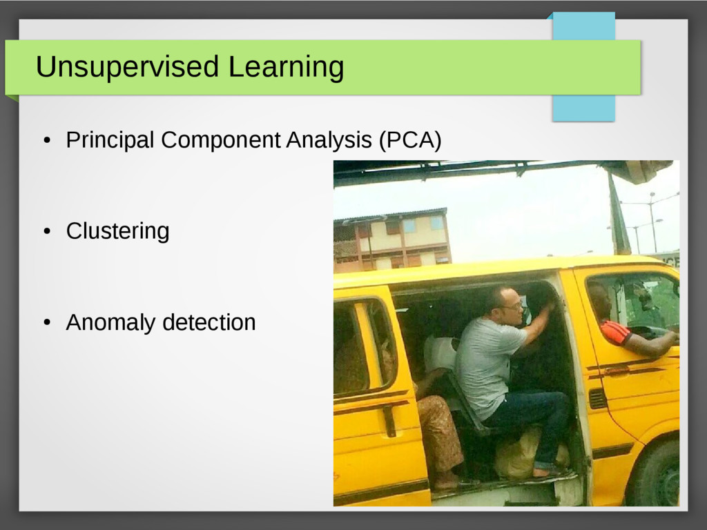 Unsupervised Learning ● Principal Component Ana...