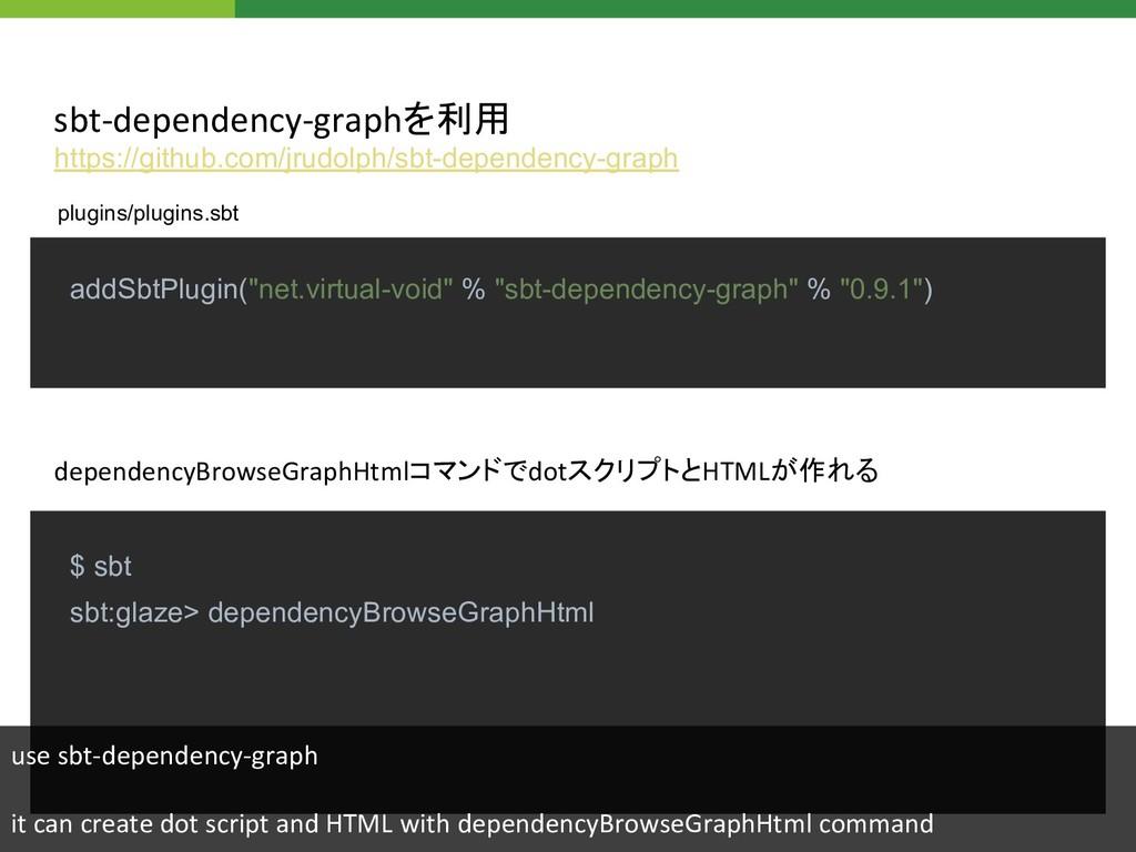 "addSbtPlugin(""net.virtual-void"" % ""sbt-dependen..."