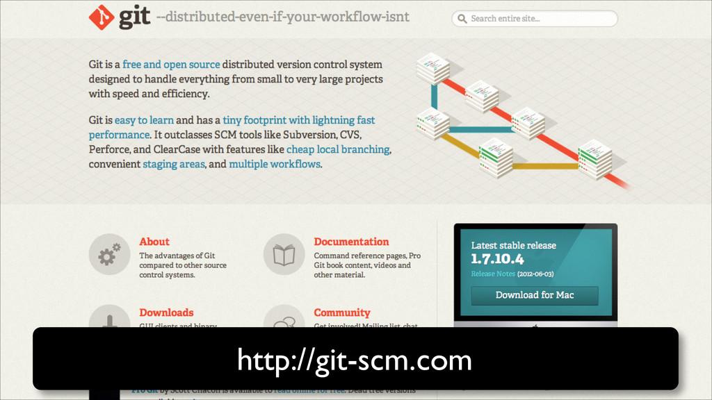 http://git-scm.com