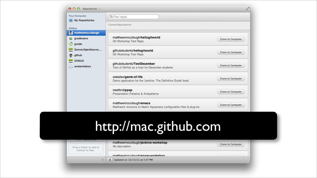 http://mac.github.com