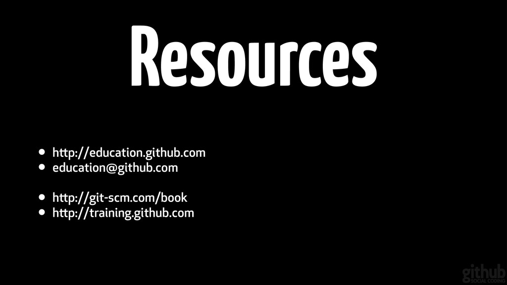 • http://education.github.com • education@githu...