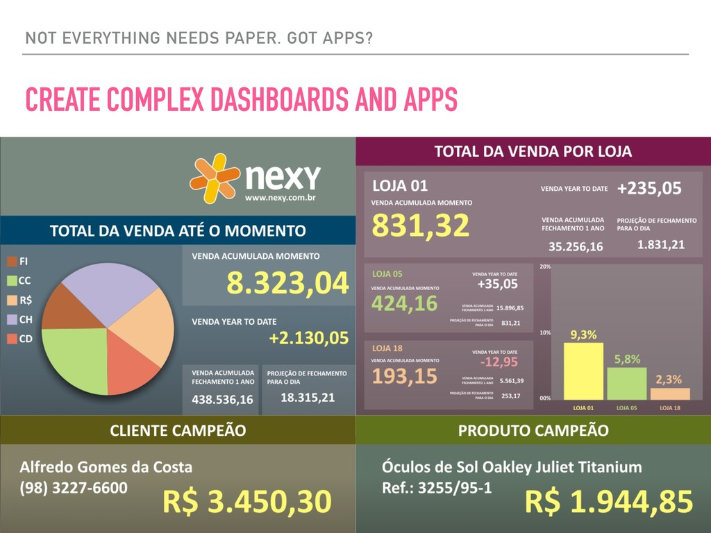 NOT EVERYTHING NEEDS PAPER. GOT APPS? CREATE CO...