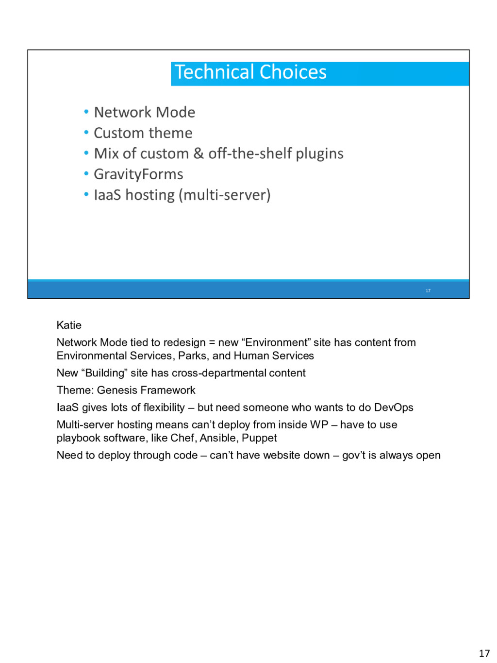 """Katie Network Mode tied to redesign = new """"Envi..."""