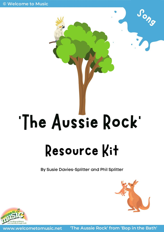 'The Aussie Rock' Resource Kit By Susie Davies-...
