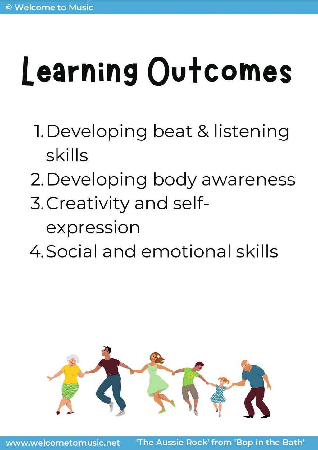 © Welcome to Music Learning Outcomes © Welcome ...