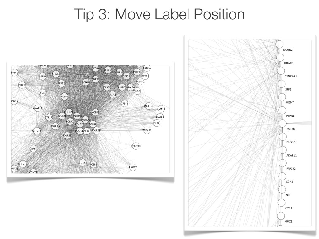 Tip 3: Move Label Position