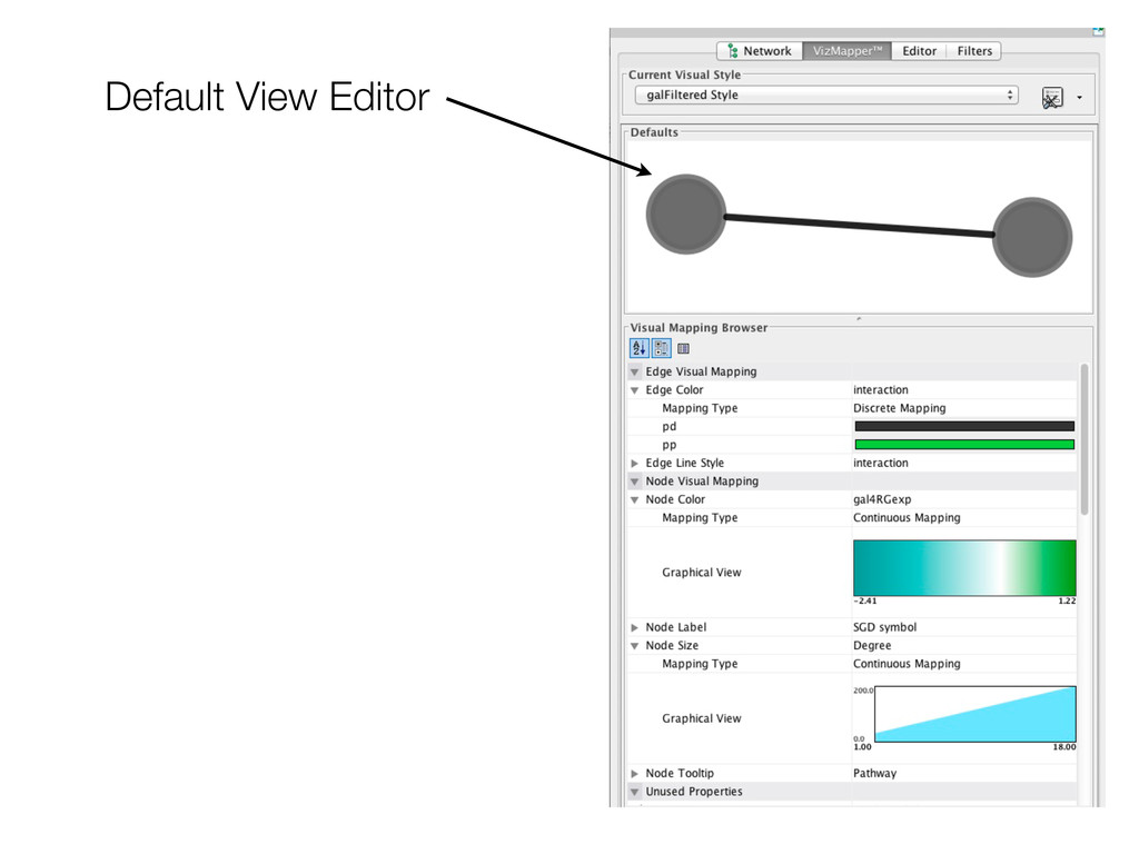 Default View Editor