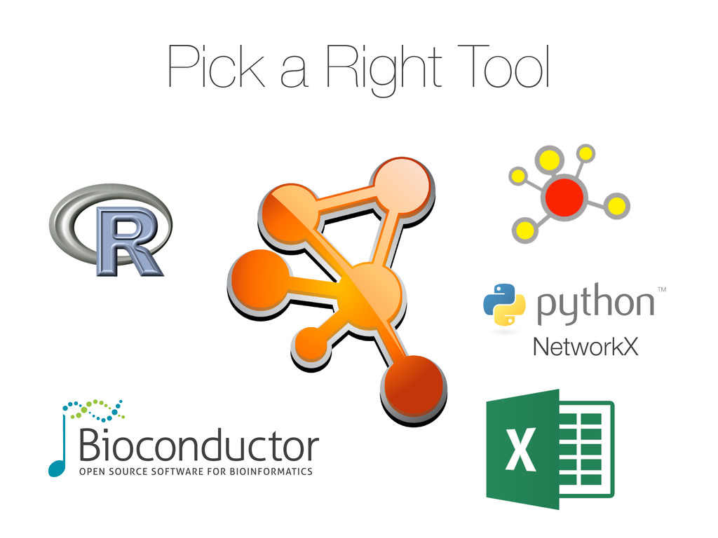 Pick a Right Tool NetworkX