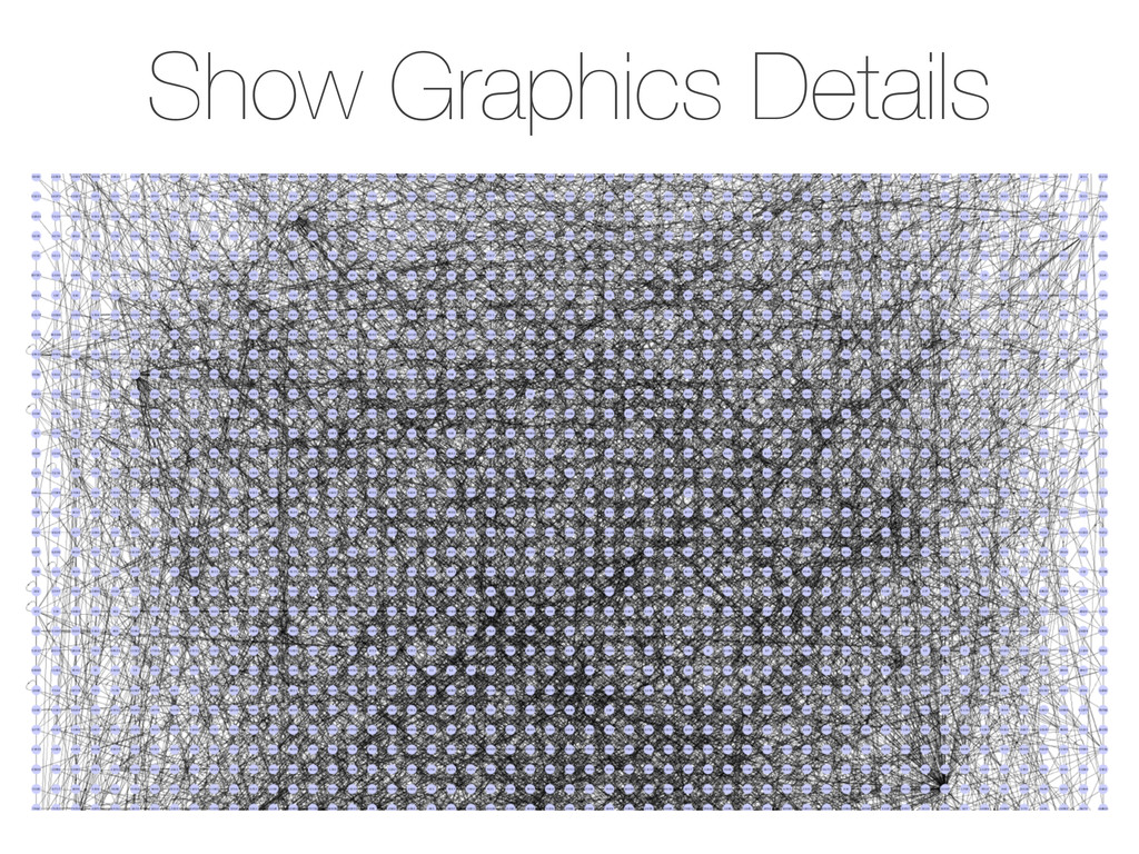 Show Graphics Details - View → Show Graphics De...