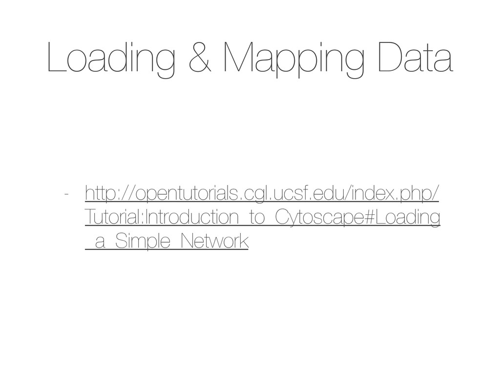 Loading & Mapping Data - http://opentutorials.c...