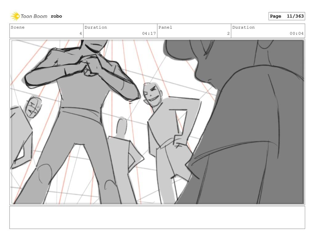 Scene 4 Duration 04:17 Panel 2 Duration 00:04 r...