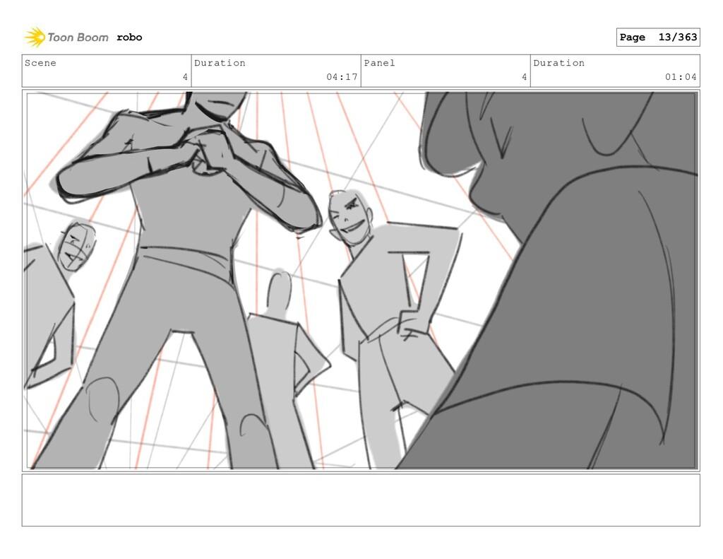 Scene 4 Duration 04:17 Panel 4 Duration 01:04 r...