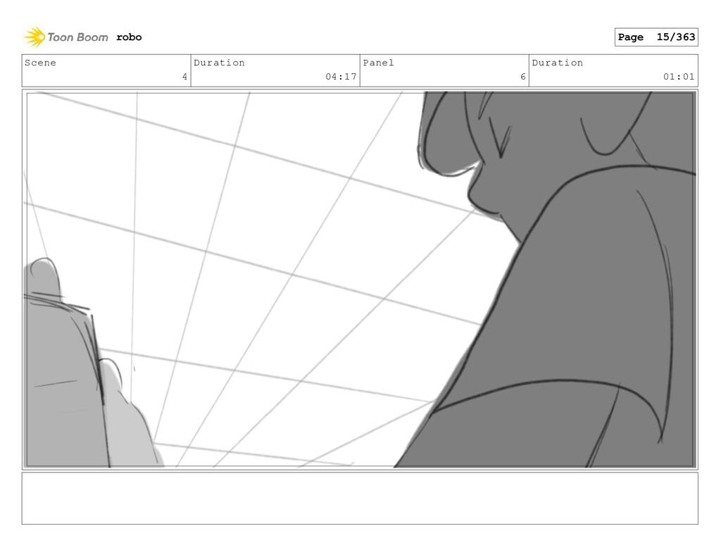 Scene 4 Duration 04:17 Panel 6 Duration 01:01 r...