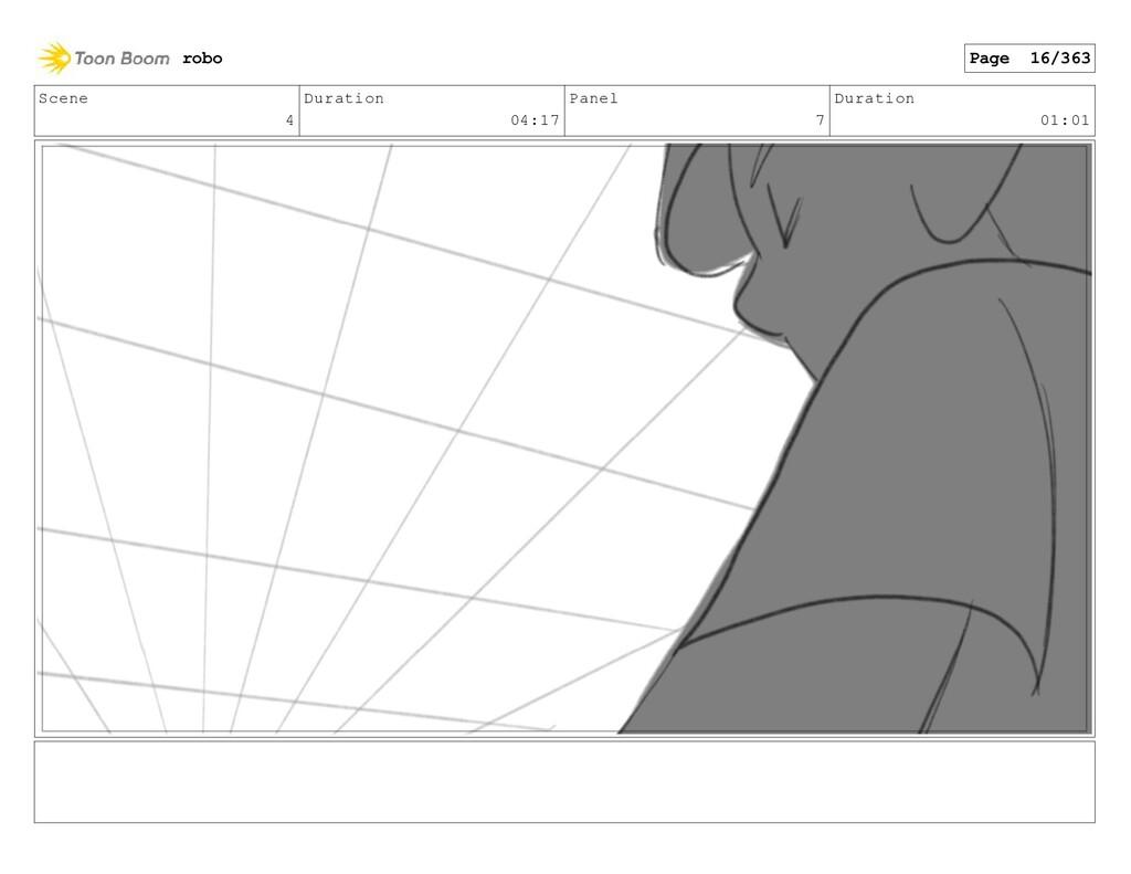Scene 4 Duration 04:17 Panel 7 Duration 01:01 r...