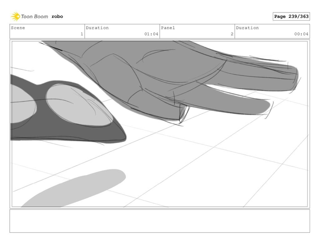 Scene 1 Duration 01:04 Panel 2 Duration 00:04 r...