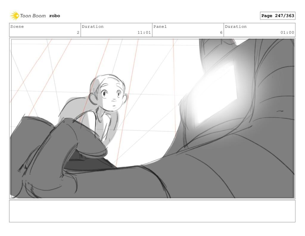 Scene 2 Duration 11:01 Panel 6 Duration 01:00 r...