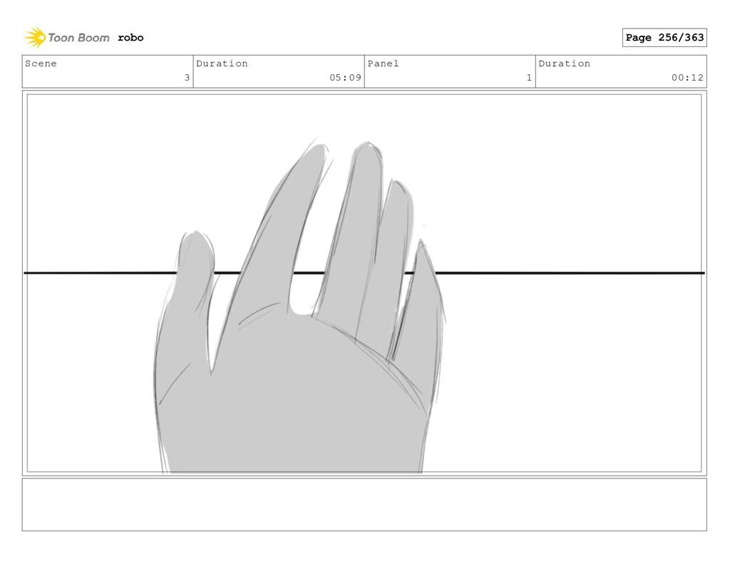 Scene 3 Duration 05:09 Panel 1 Duration 00:12 r...