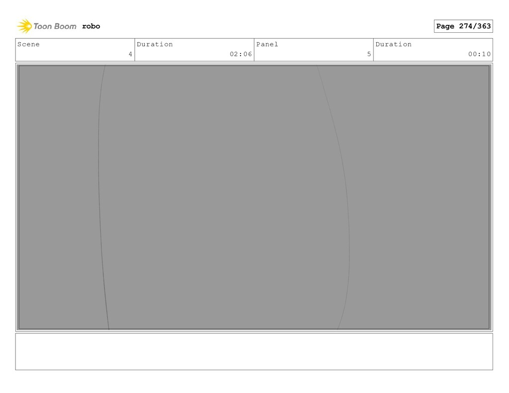 Scene 4 Duration 02:06 Panel 5 Duration 00:10 r...