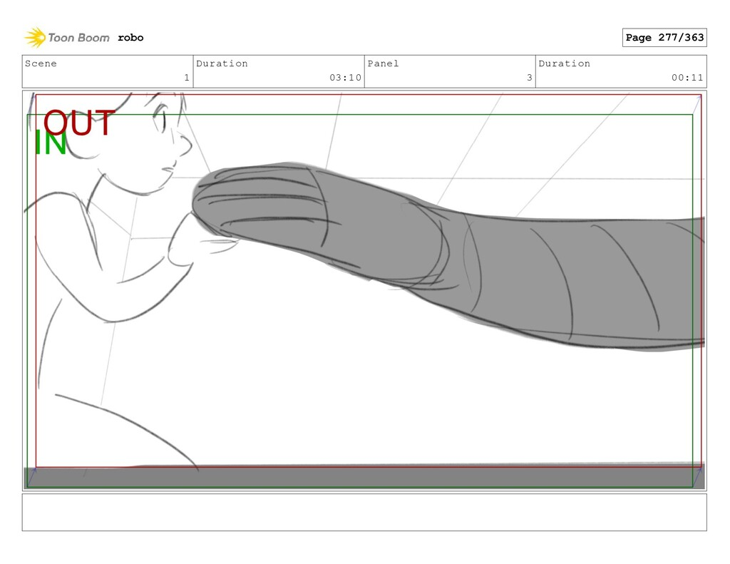 Scene 1 Duration 03:10 Panel 3 Duration 00:11 r...