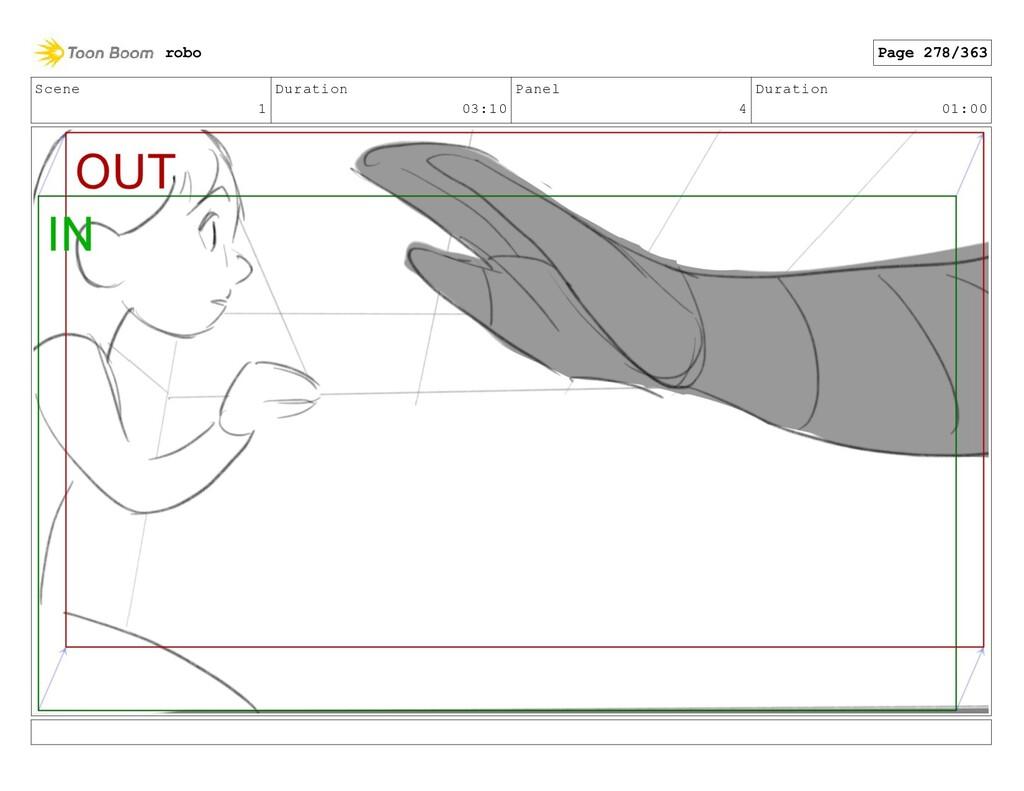 Scene 1 Duration 03:10 Panel 4 Duration 01:00 r...