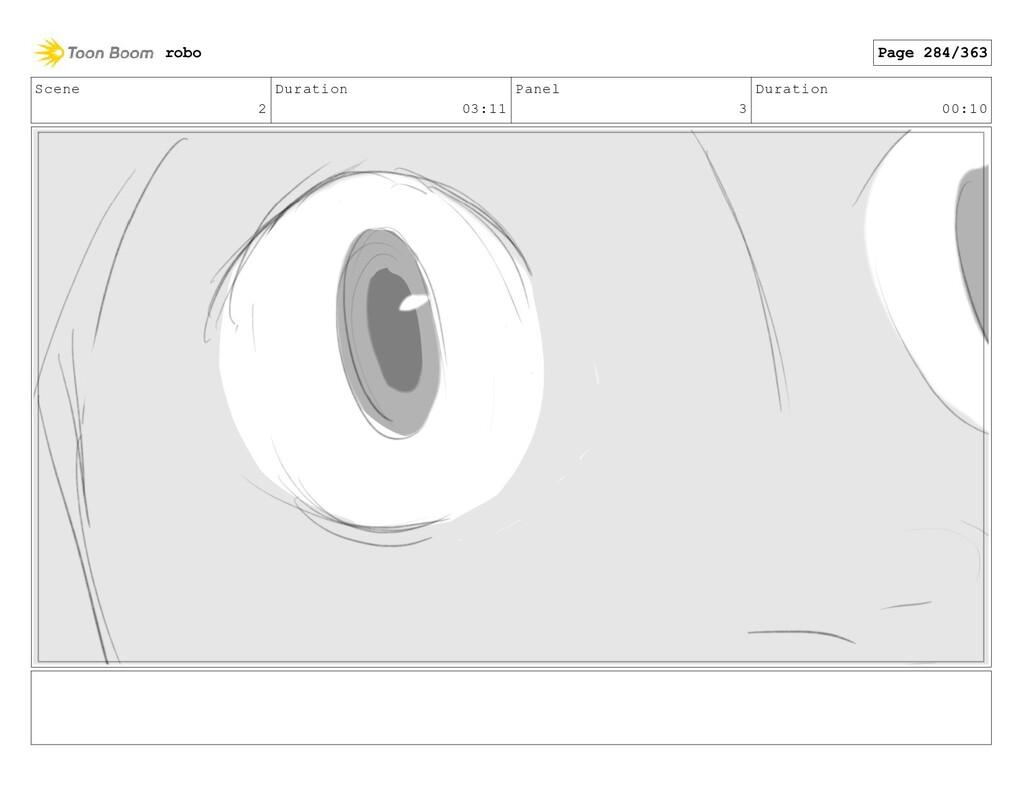 Scene 2 Duration 03:11 Panel 3 Duration 00:10 r...