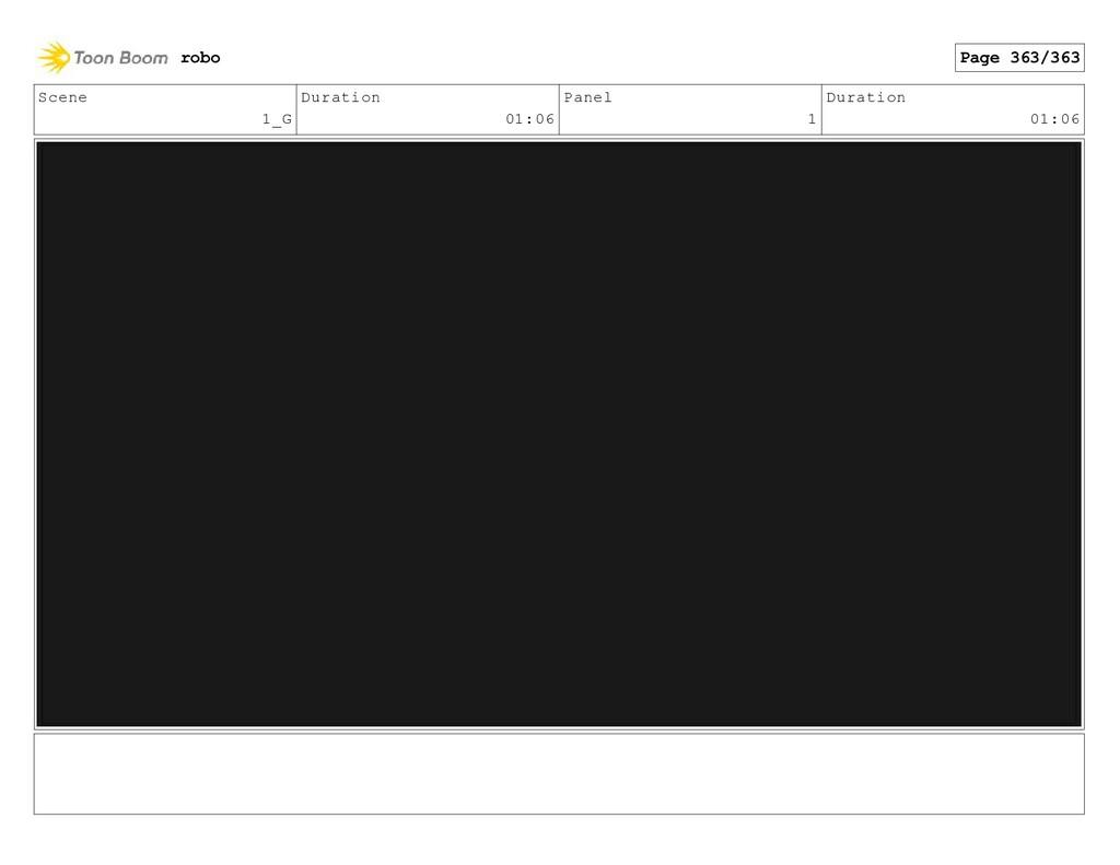 Scene 1_G Duration 01:06 Panel 1 Duration 01:06...