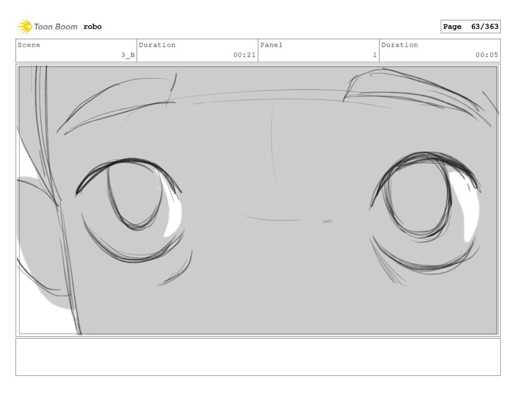 Scene 3_B Duration 00:21 Panel 1 Duration 00:05...