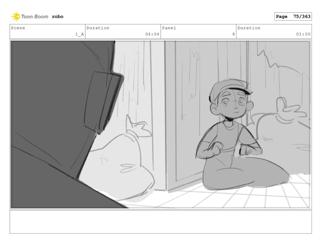 Scene 1_A Duration 04:04 Panel 8 Duration 01:00...