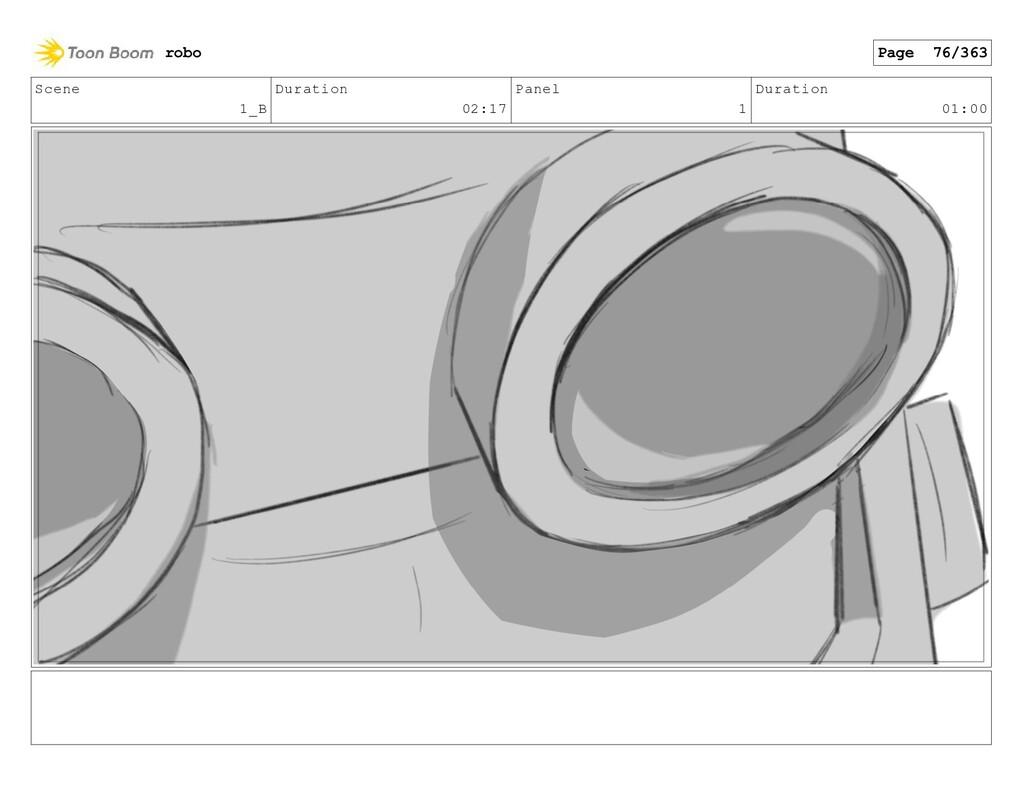 Scene 1_B Duration 02:17 Panel 1 Duration 01:00...