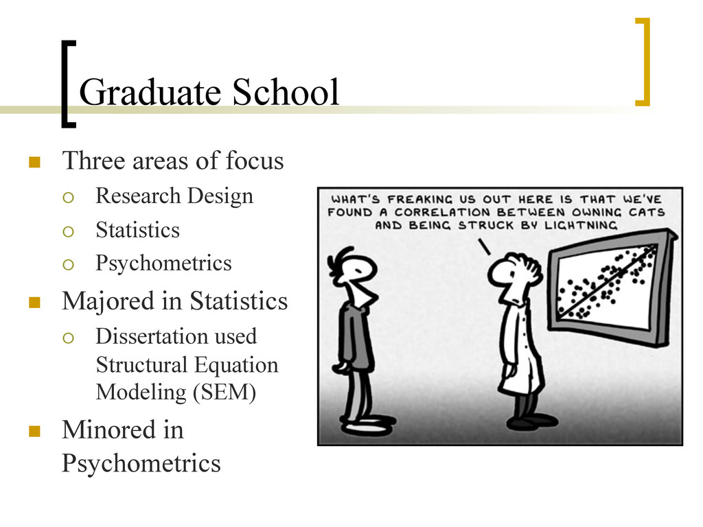 Graduate School n  Three areas of focus ¡  Re...