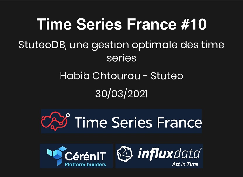 Time Series France #10 Time Series France #10 S...