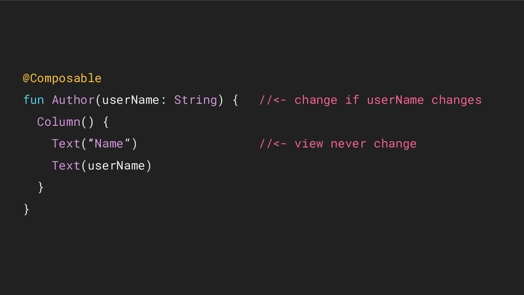 @Composable fun Author(userName: String) { //<-...