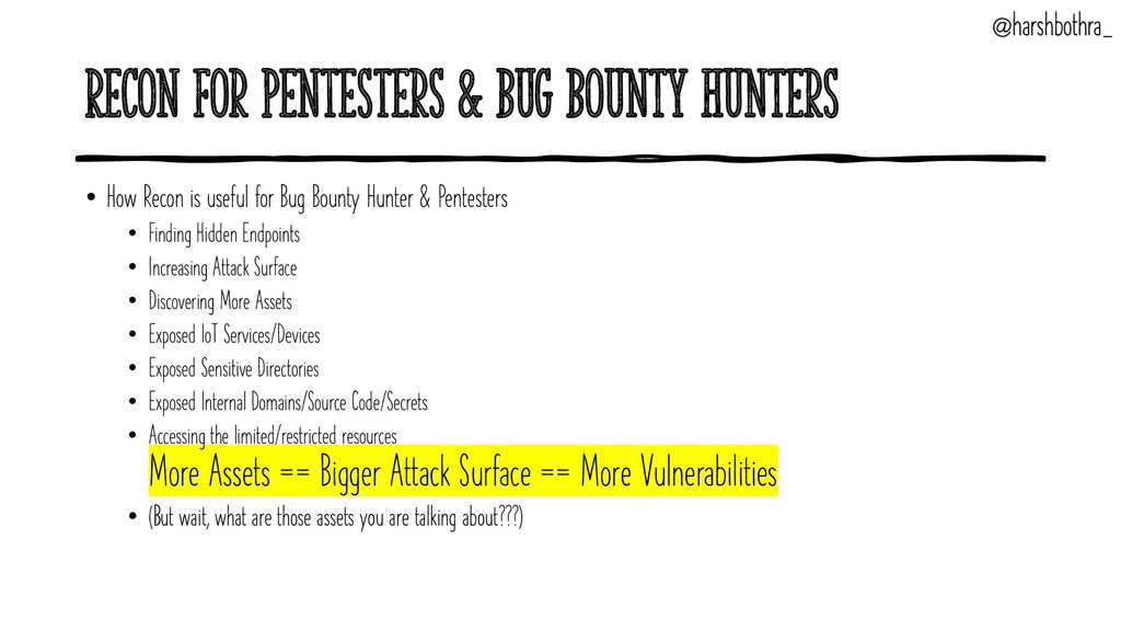 Recon for Pentesters & Bug Bounty Hunters • How...