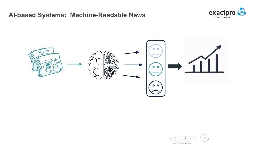 AI-based Systems: Machine-Readable News