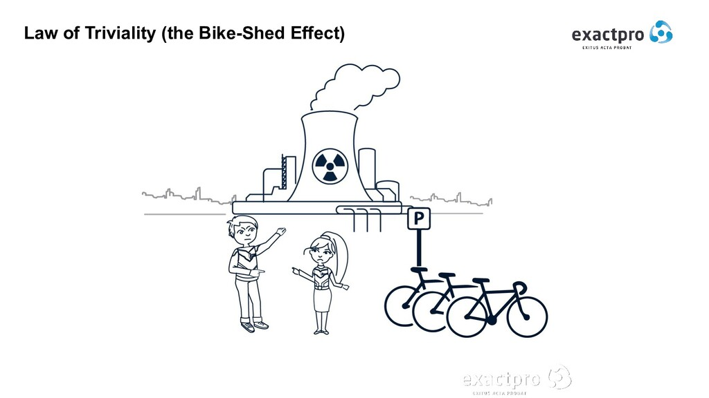 Law of Triviality (the Bike-Shed Effect)