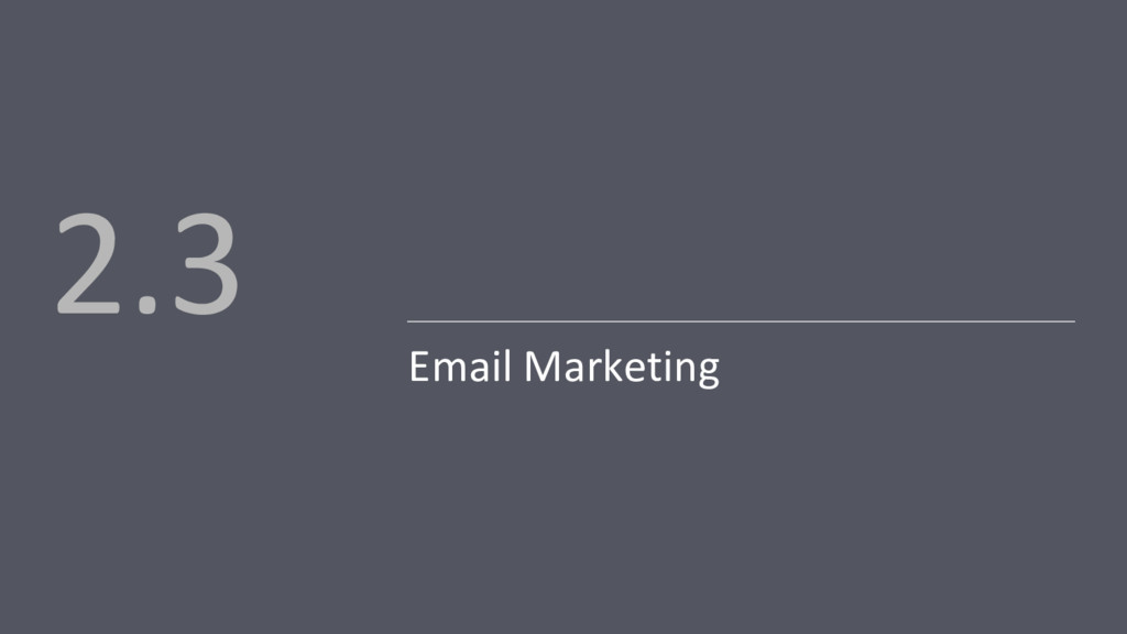 Email Marketing 2.3