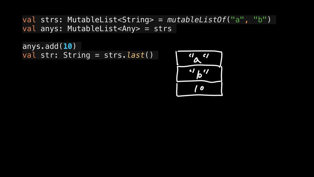 "val strs: MutableList<String> = mutableListOf(""..."