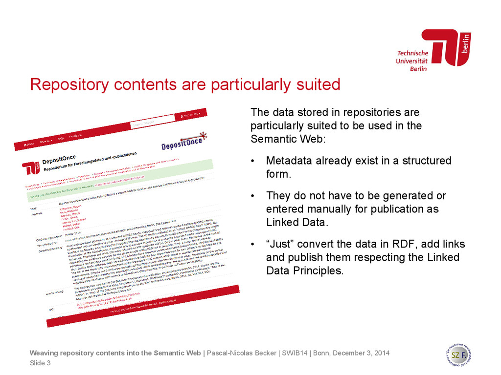 Repository contents are particularly suited The...