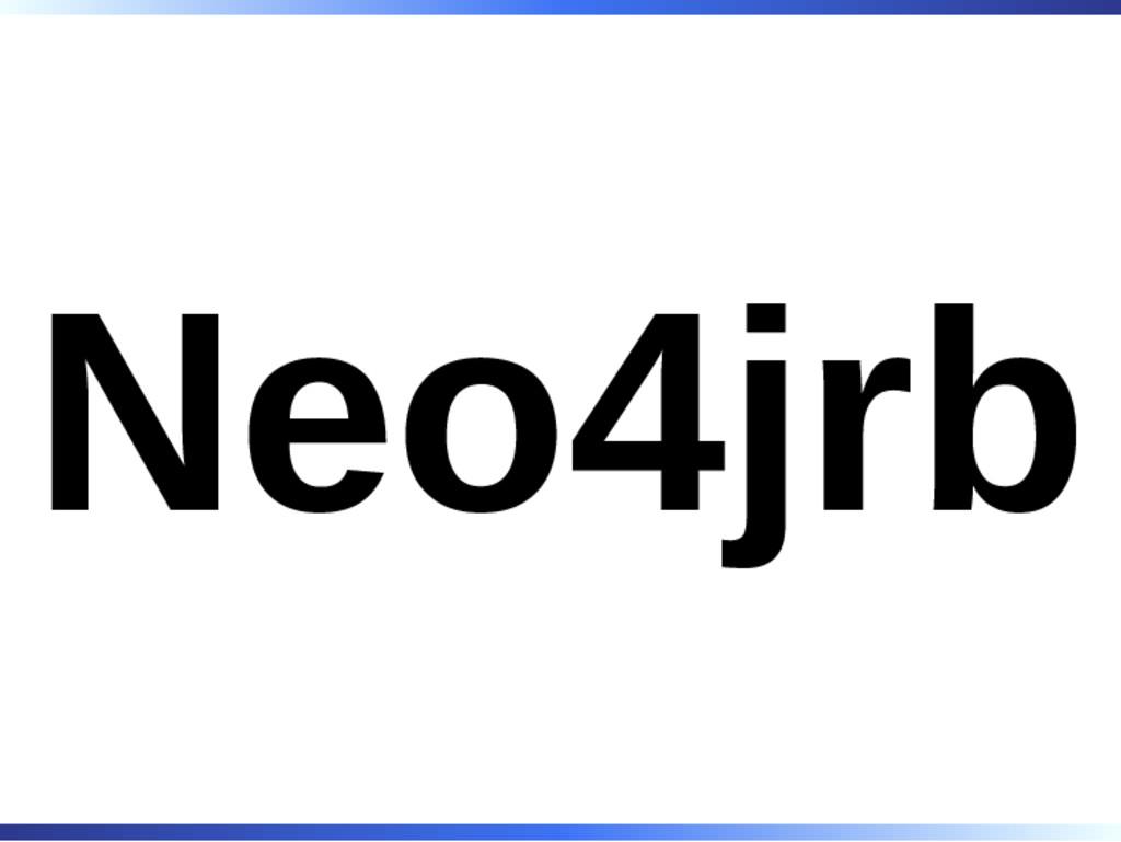 Neo4jrb