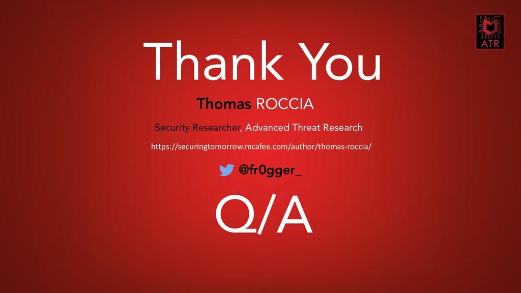 26 CORIIN – Thomas Roccia – 2019 Thank You Thom...