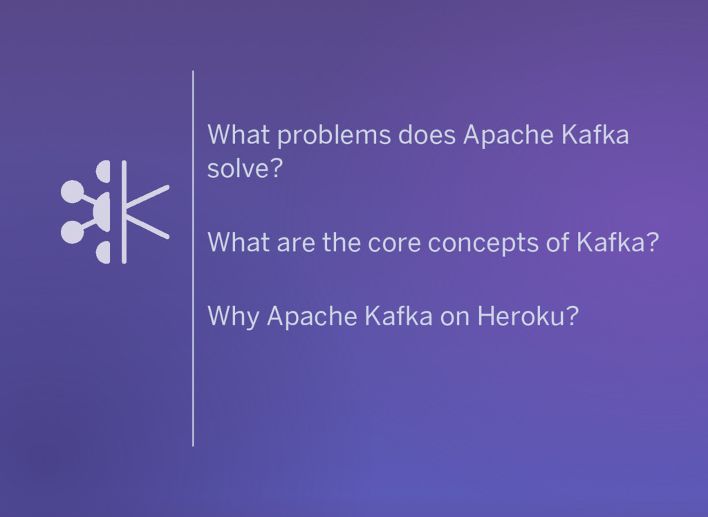 What problems does Apache Kafka solve? What are...