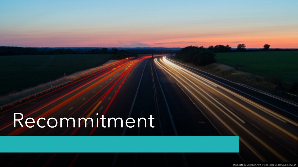 Recommitment This Photo by Unknown Author is li...