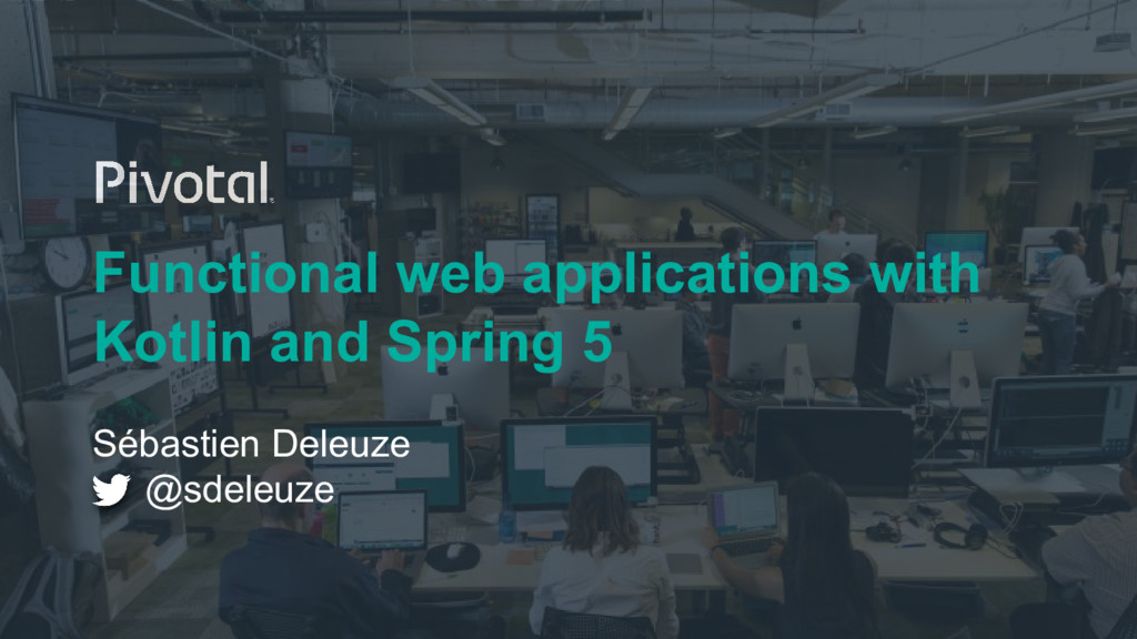 Functional web applications with Kotlin and Spr...