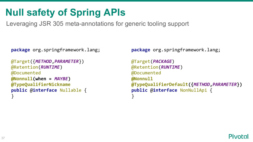 Leveraging JSR 305 meta-annotations for generic...